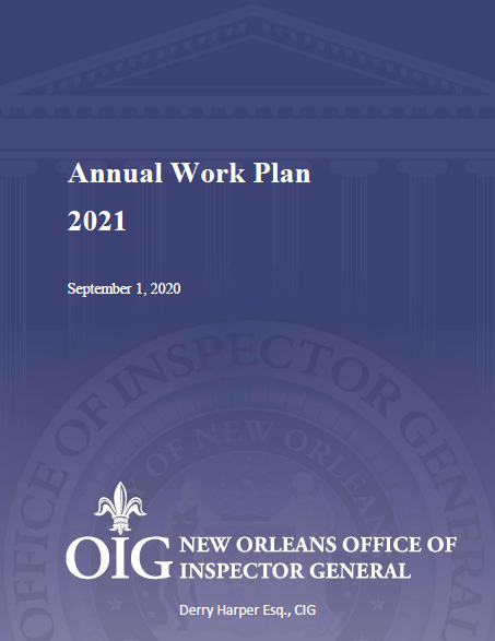 2021 Annual Work Plan