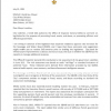 Letter to Mayor Mitch Landrieu RE: Sewerage and Water Board Rate Increases