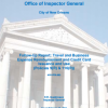 Follow-up Report: Travel and Business Expense Reimbursement and Credit Card Issuance and Use Policies