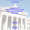 The City's Electronic Monitoring Program Part 2: Implementation and Supervision