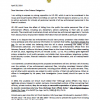 Letter to Members of the Orleans Delegation RE: the Inspector General's Opposition to HB 430
