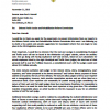 Letter to Senator J.P. Morrell RE: Orleans Parish Justice and Rehabilitation Reform Commission