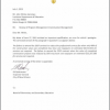 Correction Letter to John White, State Superintendent of Education RE: Review of Program Management/Construction Management
